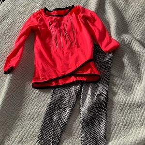 Other - Nike Dri-Fit Toddler Outfit with leggings